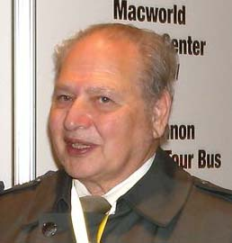 Ron Wayne during a visit on Macworld 2019.