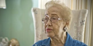 Katherine Johnson in 2008.