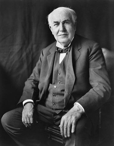 Picture of Thomas Edison in 1922.