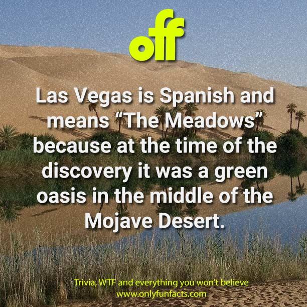 Las Vegas Facts