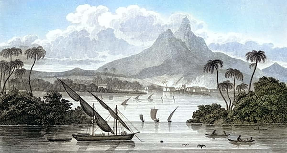 Painting of Poyais
